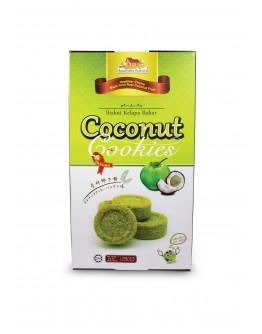 (HB059) Hoetown Coconut Cookies Pandan 120gm