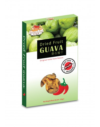 (HD061) Hoetown Dried Fruit Guava Spicy 180gm