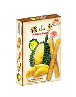 Hoetown Durian Musang King Wafer Rolls 120gm