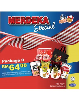 MERDEKA MONTH EXCLUSIVE PACKAGE PROMOTION PACKAGE B