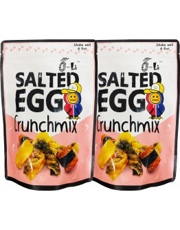 Bundle x 2 O-Li Salted Egg Crunchmix 100gm