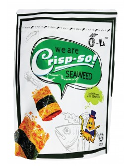 O-Li Crisp-So Crispy Squid Chips Sichuan Seaweed Flavour