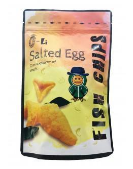 O-Li Salted Egg Fish Chips 70gm