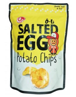 O-Li Salted Egg Potato Chips 100gm
