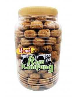 U-MI Rasa Kampung  Peanut Cookies (bot) 1.2kg