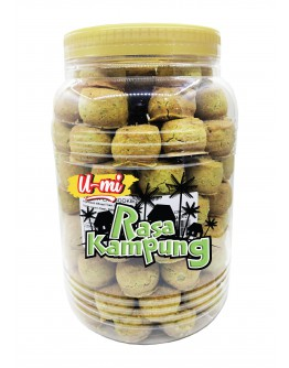 U-MI Rasa Kampung Green Peas Cookies (bot) 1.2kg